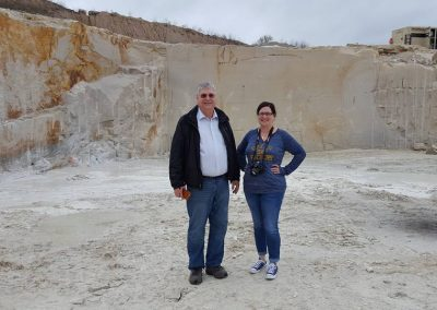 Valders Quarry in Wisconsin