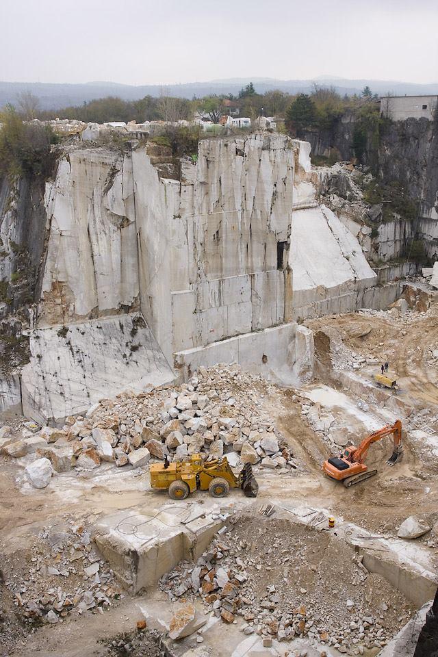 Italy Aurisina Quarry