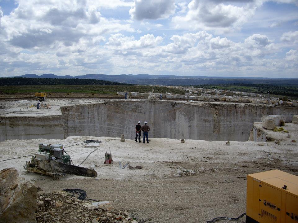 Spain Abanto Quarry