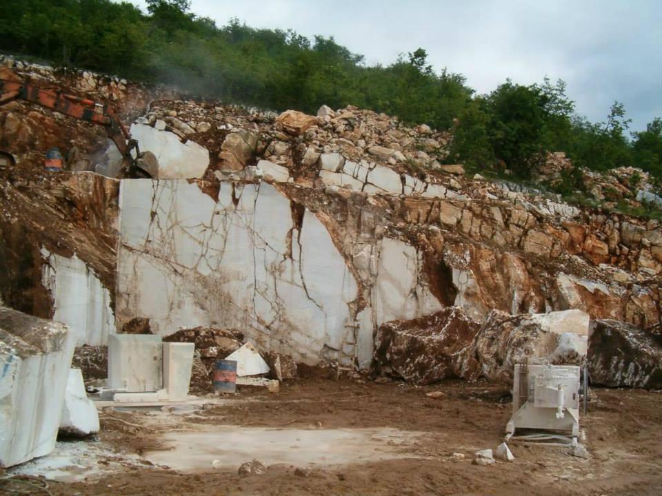 Greece Thassos Quarry