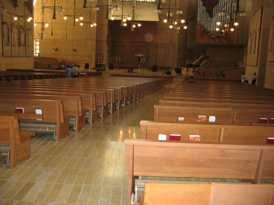 LA Cathedral Interior