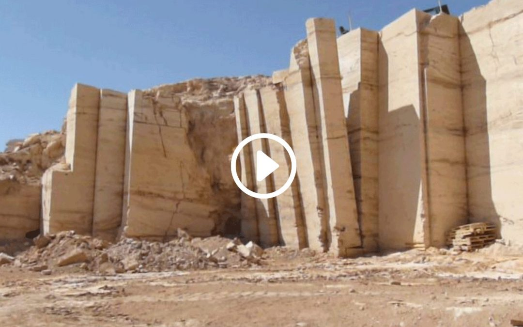 Mexico Travertine Quarry