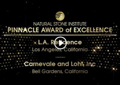 L.A. Residence | Pinnacle Award